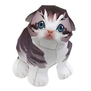 Manualidades Animales En 3d Gato